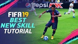 FIFA 19 BEST NEW SKILL TUTORIAL - MOST EFFECTIVE NEW SKILL MOVES in FIFA 19 - TIPS & TRICKS