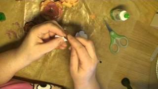 Tutorial On How To Make Paper Roses - Handledning - Guide Till Hur Du Gör Pappersrosor