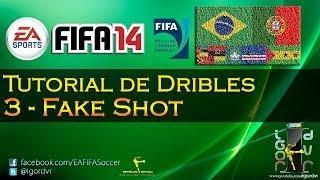 FIFA 14 - Tutorial De Dribles 3 - Fake Shot | PORTUGUÊS
