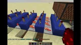 Minecraft: Redstone Tutorial: 4 Digit Combination Lock (CNB-minecraft) DUTCH!(nederlands)