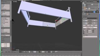 #10 - Tutorial Blender 3D Français : Modélisation 3D D'Un Lit Simplement