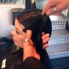 Bob hair cutting techniques - Bob haircut tutorial - Part1