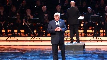 Jay Leno in Israel! Funny monologue at the Jerusalem Theater (Genesis Prize)