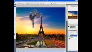Tutorial Photoshop Français: Détourage D'un BMX + Importation