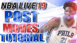 NBA Live 19 Post Moves Tips & Tutorial | How to Dominate Down Low!
