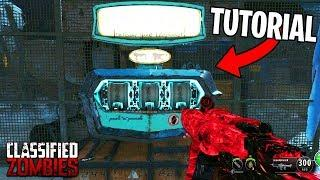 How To PACK A PUNCH on CLASSIFIED Tutorial (Black Ops 4 Zombies Gameplay PAP Parts Tutorial Guide)