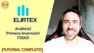 Elirtex Tutorial Español!! Primera Inversión!! [COMPLETO]