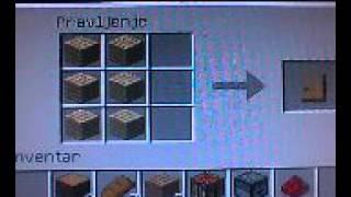 Kako Napraviti Tnt Vrata I Lopatu U Minecraftu Serbian Tutorial ;)