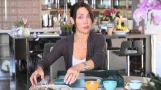 How To Decorate A Table Using Multicolor Dishes : Setting The Table With Style