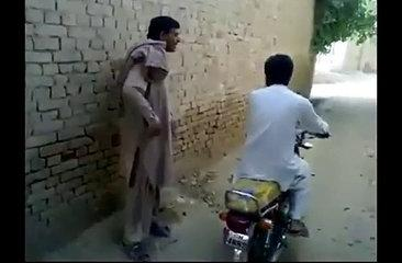 Motorcycle fails pashto funny video