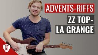 Adventskalender | 1. Tür - ZZ Top - La Grange | Riff Tutorial Deutsch