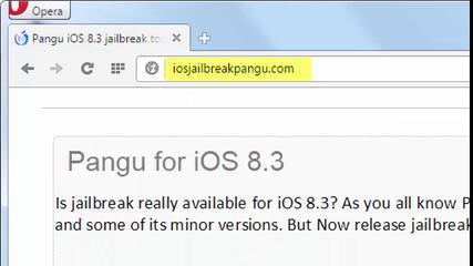 How To Jailbreak IOS 8.3 – Tutorial For Windows & Mac Proof