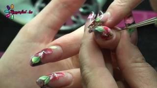 Orosz Mandula Mukorom Video #2 / Russian Almond Acrylic Nails Tutorial Part 2