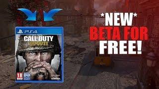 *WORKING* How To Get WWII Beta 100% FREE (Easy Tutorial) COD WW2 Beta Glitch!