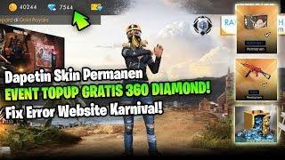 Tutorial Event Top Up Gratis Diamond Dan Fix Error Website Karnival - Garena Free Fire