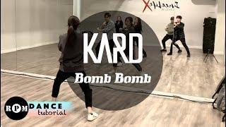 """KARD """"Bomb Bomb"""" Dance Tutorial (Chorus)"""