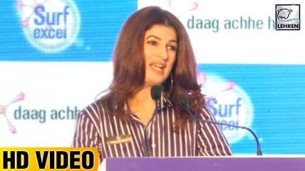 Twinkle Khanna's FUNNY Speech | FULL VIDEO