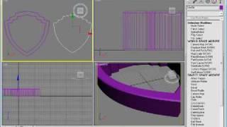 Tutorial 3D Studio Max Português - Vinheta Abertura WARNER Pt 2
