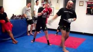 Tutorial On The Muay Thai Spinning Back Fist - Hammer Fist