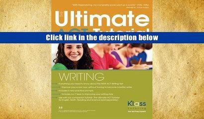 [PDF]  The Ultimate ACT Tutorial: Writing Erik Klass Trial Ebook