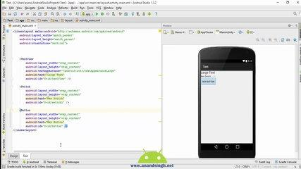Android LinearLayout Tutorial in Hindi