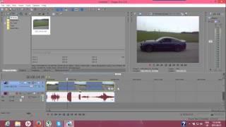 SK/TUTORIALS Sony Vegas Pro 12 - Ako Spomalit, Zrychlit A Prehrat Odzadu Video
