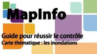 [Tutoriel FR MapInfo] Guide Pour Réussir Le Contrôle + Mise En Page