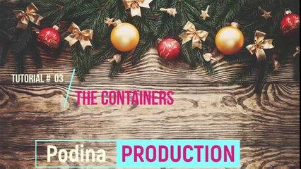Lecture 3: Container in bootstrap (Tutorial # 03 by Podina Production)
