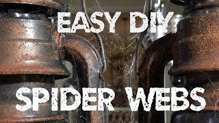 DIY Spider Webs - Web Shooter Tutorial