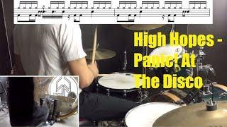High Hopes Drum Tutorial - Panic! At The Disco