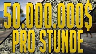 GTA 5 Online | 50.000.000$ Pro Stunde | Geld Machen Tutorial [Deutsch]