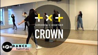 """TXT """"Crown"""" Dance Tutorial (Chorus)"""