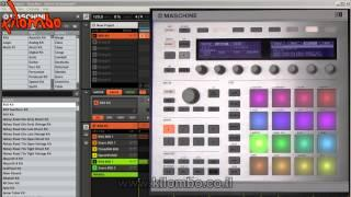 MASCHINE - Pad Link And Choke Group Quick Tutorial By Kilombo (Hebrew)