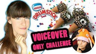 Following NerdECrafter's DIY Nestle Drumstick Tutorial with Only Voiceover
