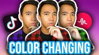 COLOR CHANGING CLOTHES TUTORIAL ON TIKTOK! (iOS & Android) *NEW*