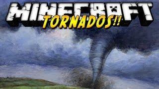 Minecraft 1.7.2 - Review De Weather&Tornadoes MOD - ESPAÑOL TUTORIAL