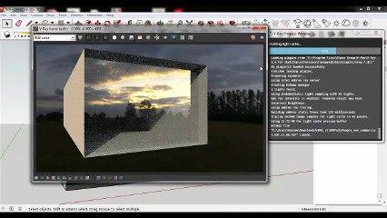 Sketchup Vray 3.4 Glass Transparency Quick Settings