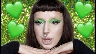 Green Bih Tutorial // Just a few dots this time...nah not really
