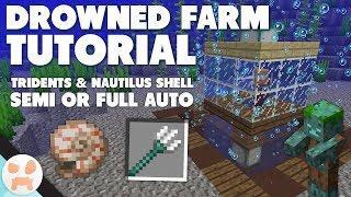 Drowned Farm Tutorial | Simple, Auto or Semi Auto