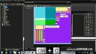 Game Maker Tutorial   Flappy Bird [02] [Arabic]