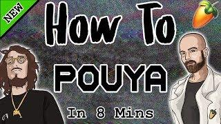 From Scratch: A Pouya Song in 8 Minutes   FL Studio 20 Hard Trap Tutorial 2019
