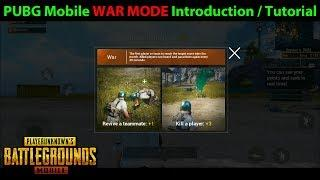 WAR MODE Tutorial / Introduction - The Newest ARCADE MODE in PUBG Mobile 0.7.0 is AWESOME!!
