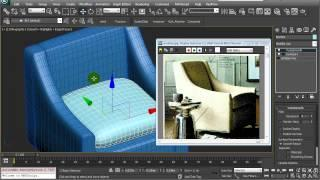 3ds Max Tutorial - Modelling A Sofa - Armchair (Spanish)