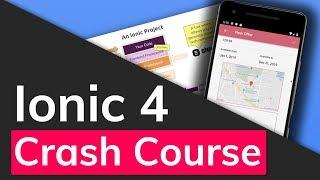 Ionic 4 & Angular Tutorial For Beginners - Crash Course