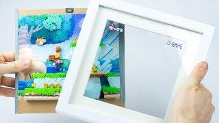 New Super Mario Bros. in a Frame  – Polymer Clay Tutorial