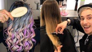 New Trendy Hairstyles Tutorials 2019 | How to Balayage Hair Technique