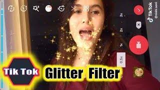 New Trend ✨ Glitter Filter + TUTORIAL ✨ Glitter Challenge TikTok Compilation