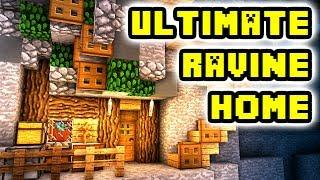 Minecraft Tutorial: Ultimate Ravine House Build