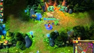 League Of Legends - Shaco Jungle Tutorial SEM Smite (Português)