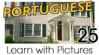 Learn Brazilian Portuguese With Pictures -- In The Home
